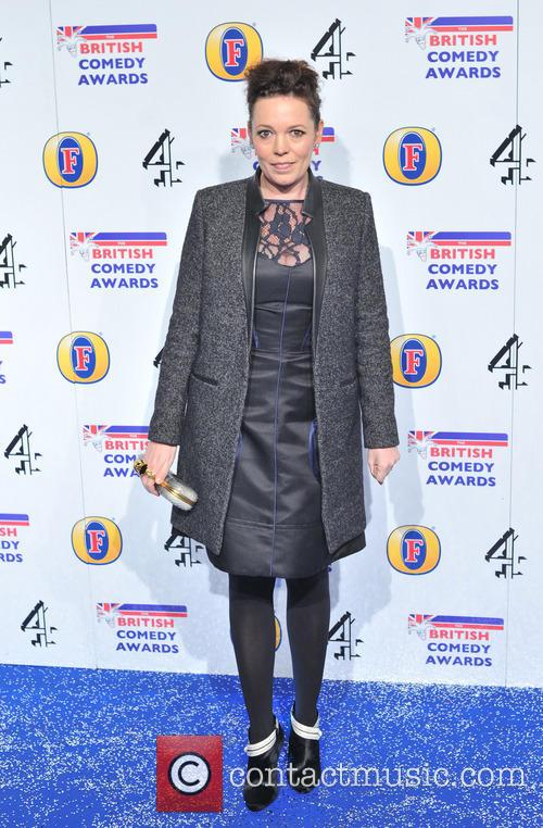 Olivia Coleman The British Comedy Awards 2012 held...