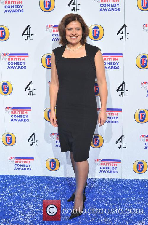 rebecca front the british comedy awards 2012 20027353