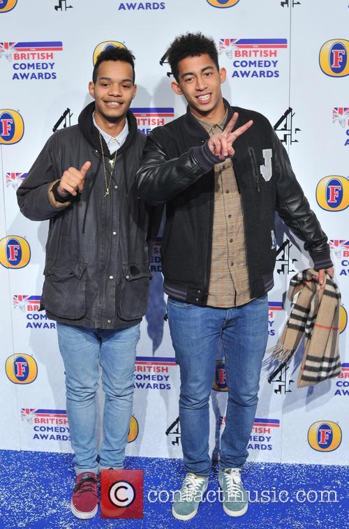 Rizzle Kicks The British Comedy Awards 2012 held...