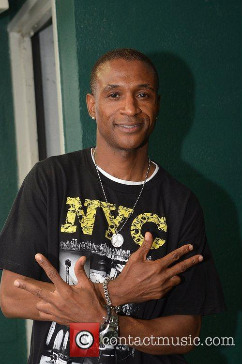 Tommy Davidson  backstage during 5th Annual Memorial...
