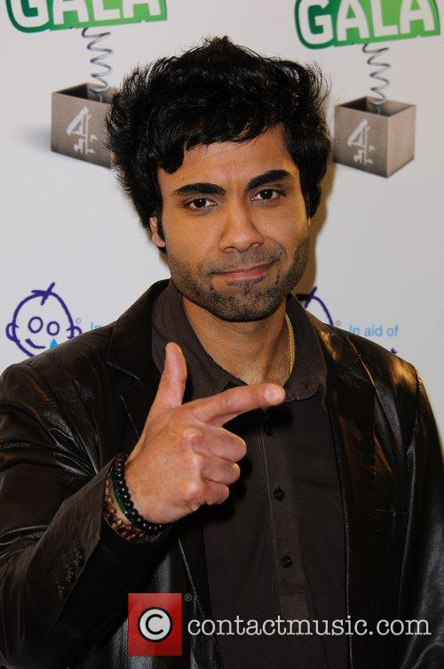 Paul Chowdhry Channel 4's Comedy Gala, held at...