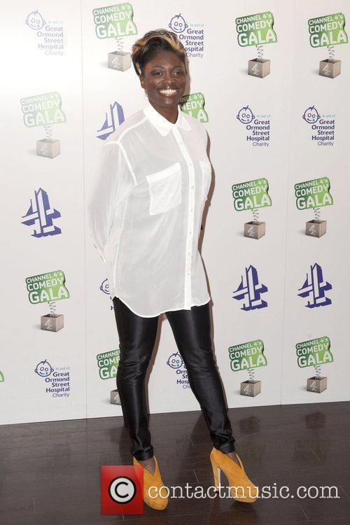 Channel 4's Comedy Gala, held at the O2...
