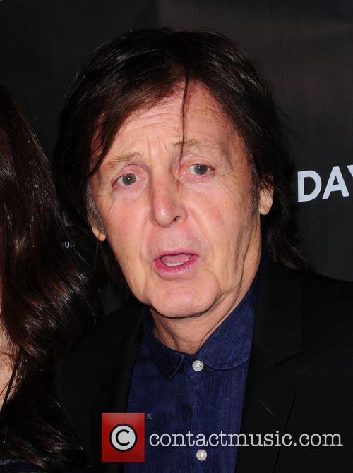 Featuring: Sir Paul McCartneyWhere: New York City, USA