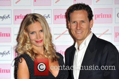 Brendan Cole and wife Zoe Hobbs The Comfort...