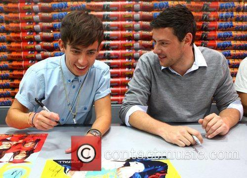 Kevin Mchale and Cory Monteith 1