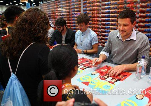 Kevin Mchale and Cory Monteith 2