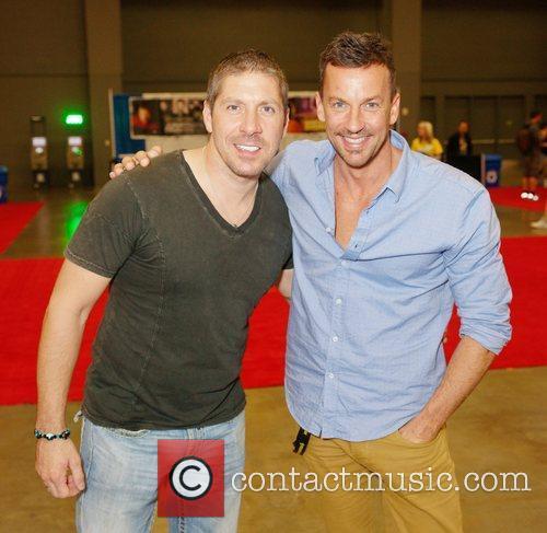 Ray Parker and Craig Parker  at Comic...