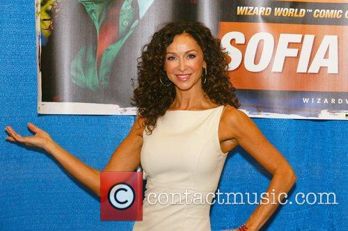 Sofia Milos at Comic Con Austin Texas, USA