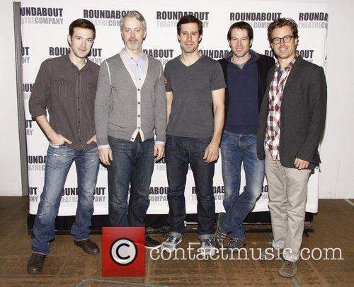 Jacob Fishel, Tim McGeever, Josh Cooke, Kieran Campion...