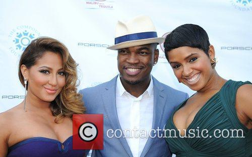 Adrienne Bailon and Ne-yo 2