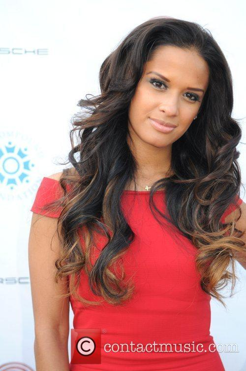 Rocsi Diaz at the Fostering A Legacy' Benefit