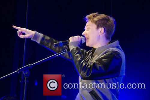 Conor Maynard performs at the Bluewater Shopping Centre...