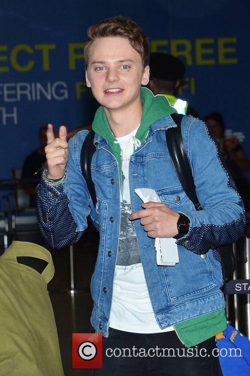 UK teen singer Conor Maynard gets a fond...