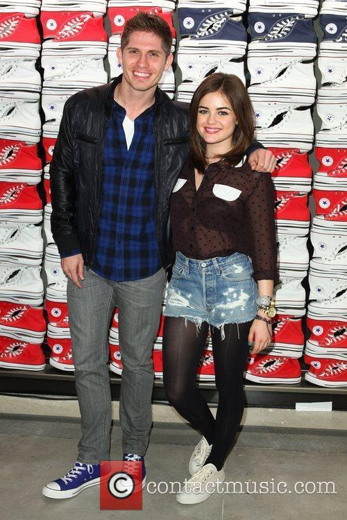 Alexander Ludwig and Lucy Hale 2