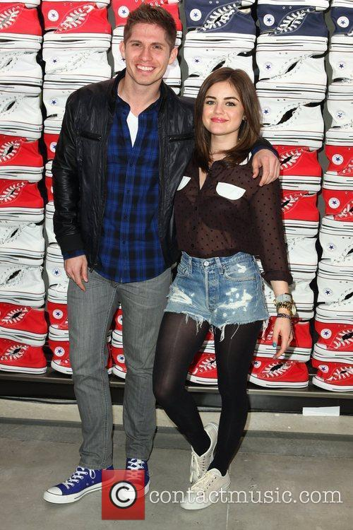 Alexander Ludwig and Lucy Hale 1