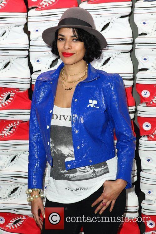 DJ Rashida Converse West Coast Flaship Opening in...