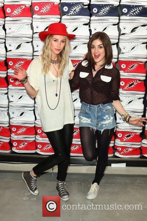 Gillian Zinser and Lucy Hale 4