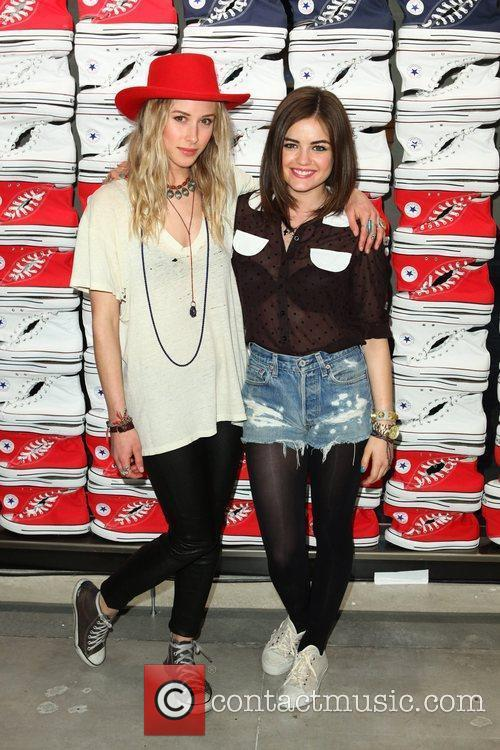 Gillian Zinser and Lucy Hale