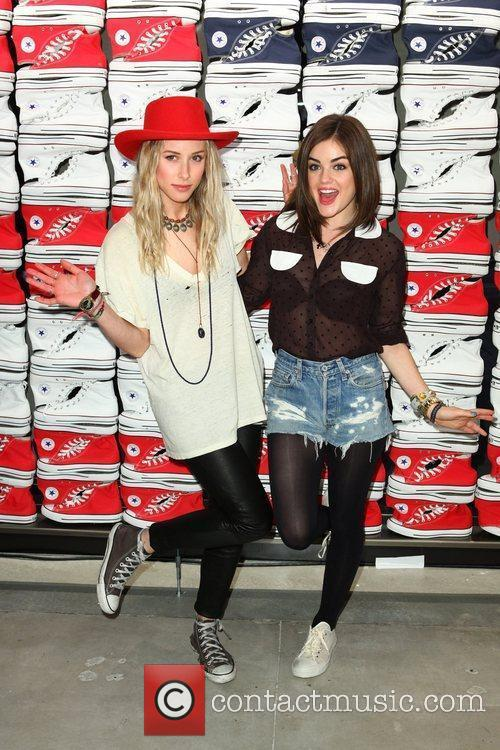 Gillian Zinser and Lucy Hale 9