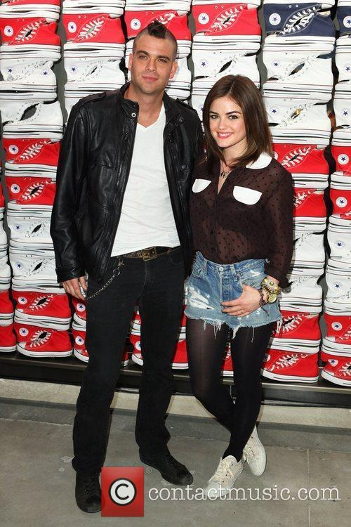 Lucy Hale and Mark Salling 2