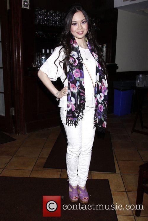 Anna Maria Perez De Tagle and Corbin Bleu 4