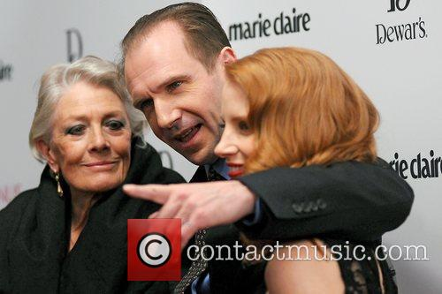Vanessa Redgrave, Jessica Chastain and Ralph Fiennes 1
