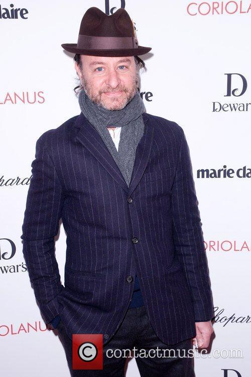 Fisher Stevens,  at the New York premiere...
