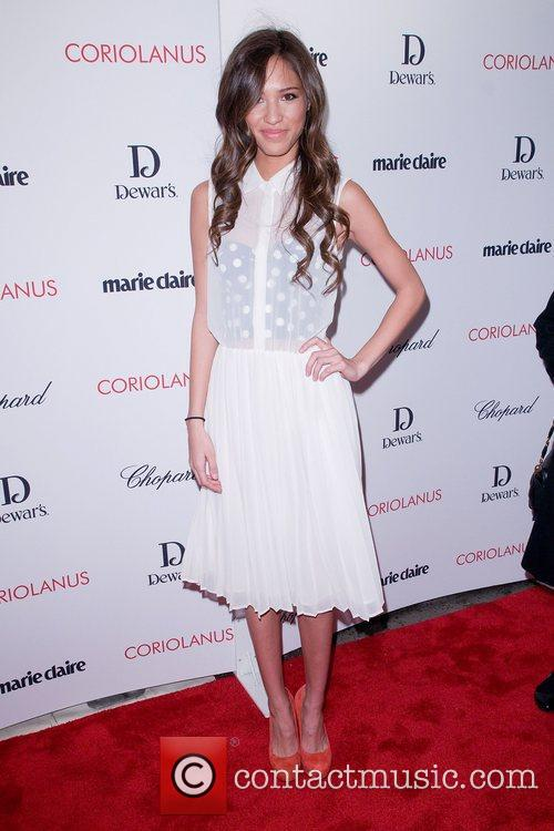 Kelsey Chow,  at the New York premiere...