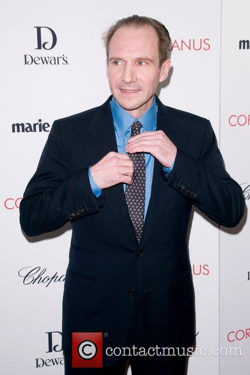 Ralph Fiennes,  at the New York premiere...