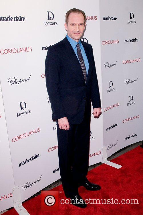 At the New York premiere of 'Coriolanus' shown...