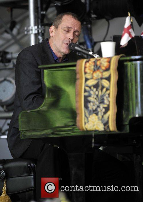Hugh Laurie and Cornbury Music Festival 2