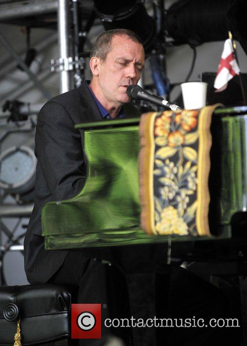 Hugh Laurie and Cornbury Music Festival 3