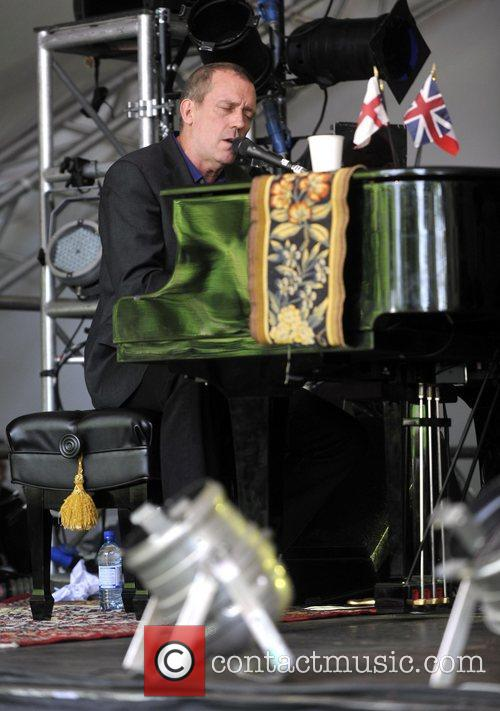Hugh Laurie and Cornbury Music Festival 4