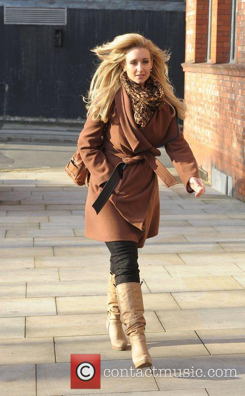 Catherine Tyldesley 'Coronation Street' cast outside Granada Studios...