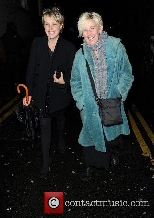 The 'Coronation Street' Christmas party at Suede nightclub