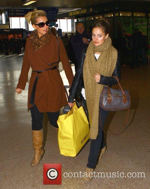 Catherine Tyldesley and Paula Lane The cast of...