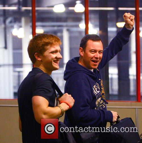 Sam Aston and Andrew Lancel The cast of...