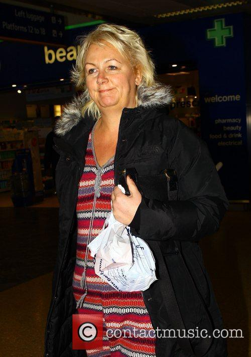 Sue Cleaver The cast of Coronation Street arrive...