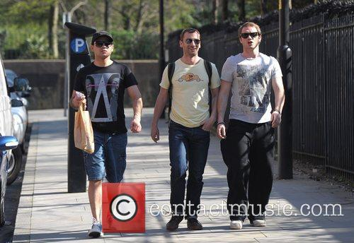 Ryan Thomas, Charlie Condou, Chris Fountain, Granada Studios