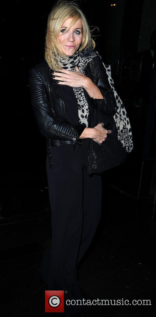 michelle collins celebrities arrive at the hilton 5968362