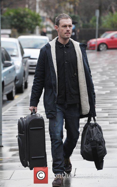 Ben Price outside Granada Studios Manchester Manchester, England