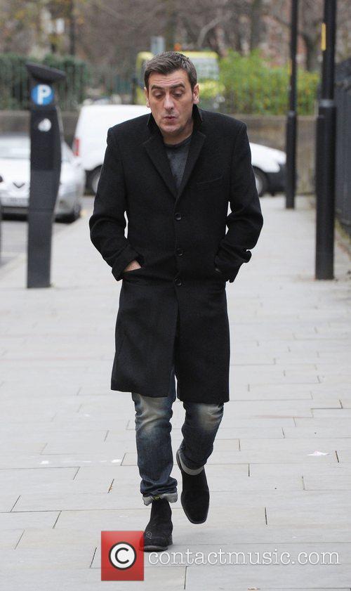 Chris Gascoyne outside Granada Studios Manchester Manchester, England