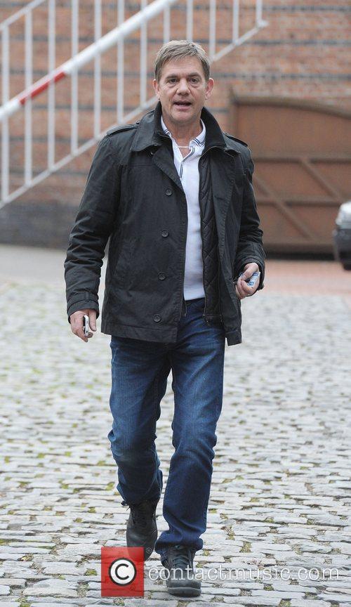 John Michie outside Granada Studios Manchester Manchester, England