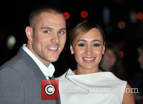 Jessica Ennis and guest Cosmopolitan Ultimate Women Of...