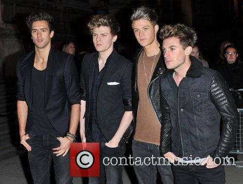 Andy Brown, Joel Peat, Ryan Fletcher, Adam Pitts and Lawson 8