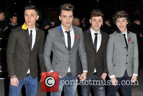 Jamie Hamblett, Josh Cuthbert, Jaymi Hensley and George...