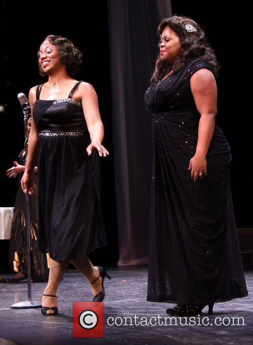 Adriane Lenox and Amber Riley 1
