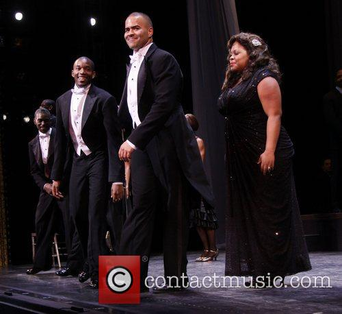 Christopher Jackson, Amber Riley and Cast 2