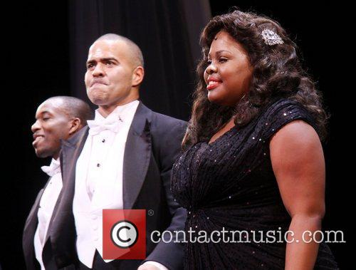 Christopher Jackson, Amber Riley and Cast 1