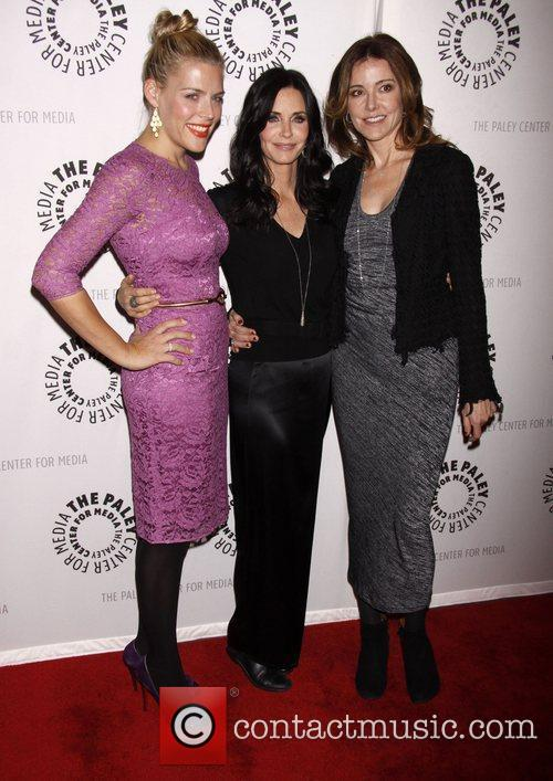 Busy Philipps, Christa Miller, Courteney Cox and Paley Center For Media 3